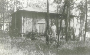 Original Cabin by the lake 1950's